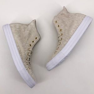 CONVERSE Chuck Taylor Hi Top Animal Print Sneakers